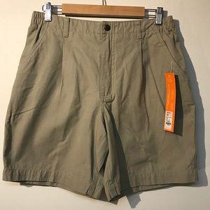 Royal Robbins tan shorts size 10 NWT